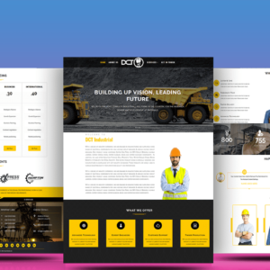 Divi Industrial Theme