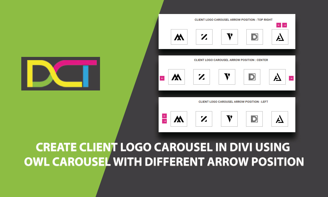 Create Client Logo Carousel In DIVI Using Owl Carousel With