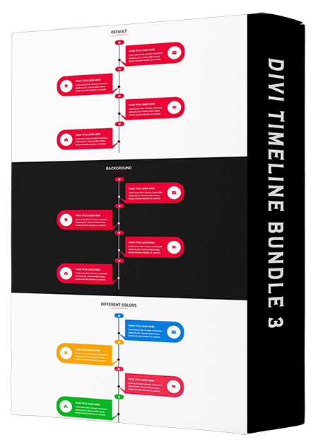 Divi Timeline Bundle