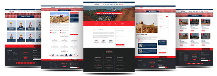 Best Divi Roofing Theme