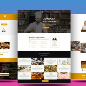 Get Best Restaurant Divi Child Theme For pizza, coffee, restaurant, hotels, pub or bar business.