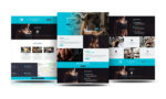 Divi Free Fitness Gym Layout