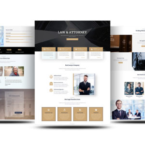 Free Divi Attorney Layout