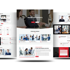 Free Divi Consultant Layout