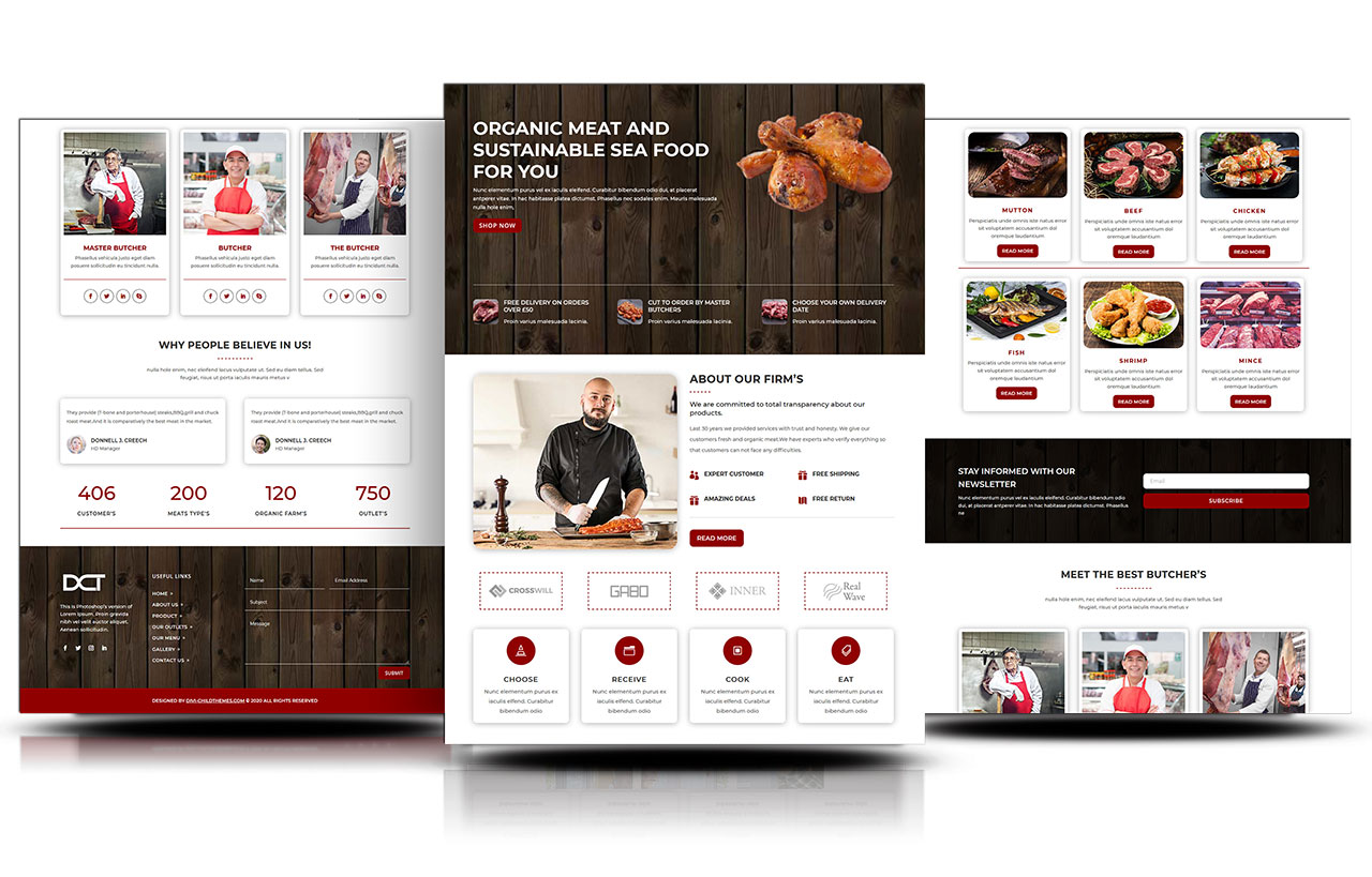 free-divi-butcher-layout
