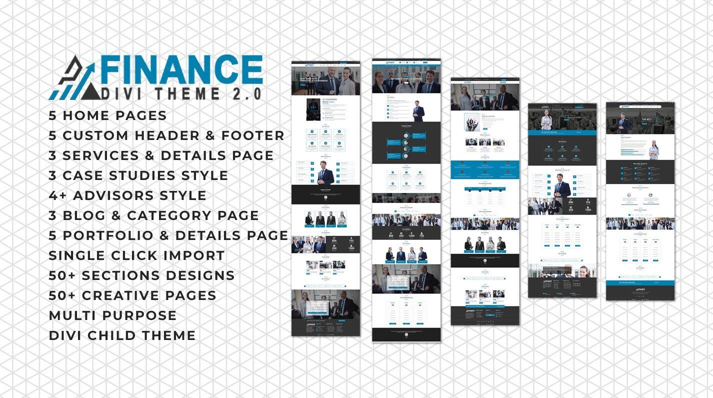 Divi Finance & Consulting Theme Documentation
