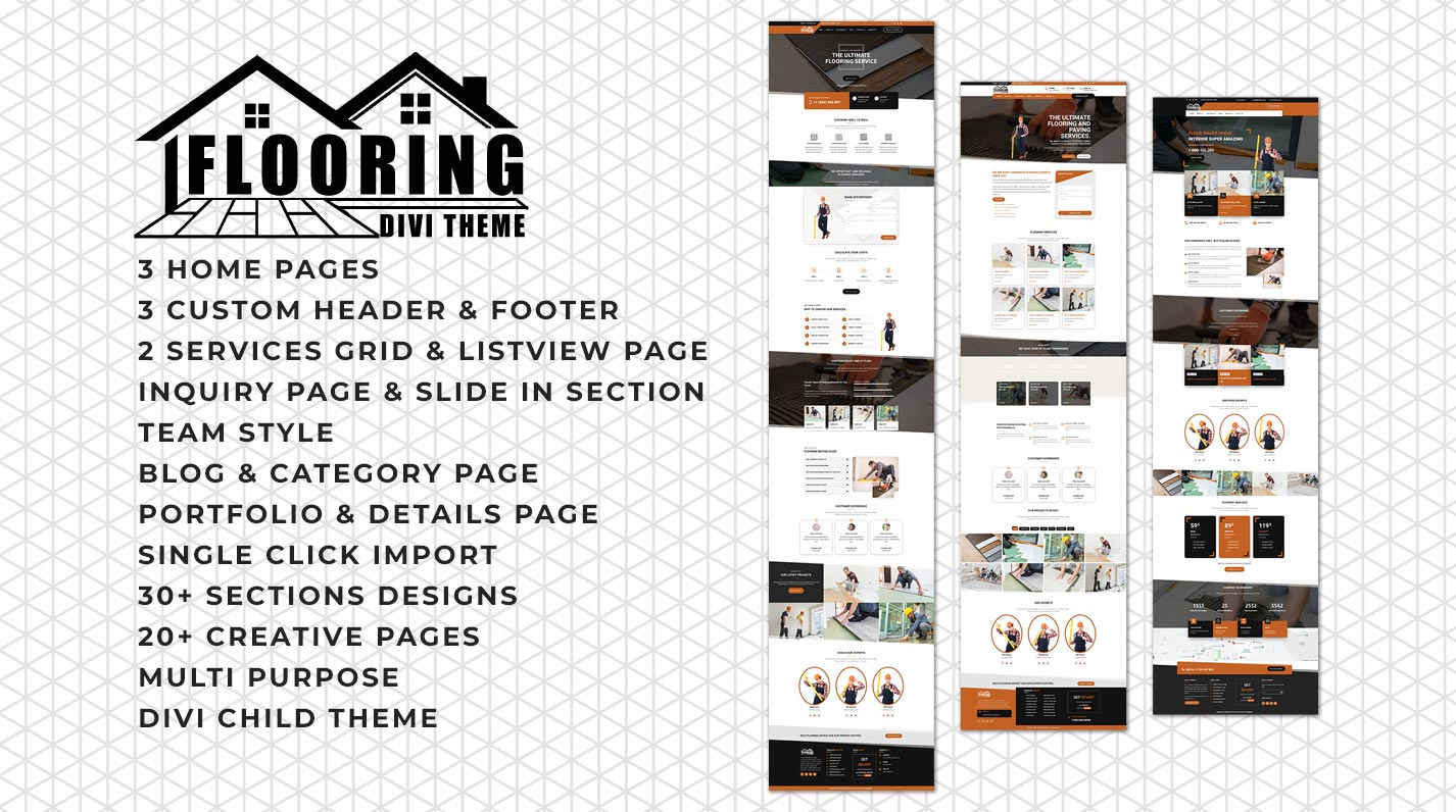 Divi Flooring Theme