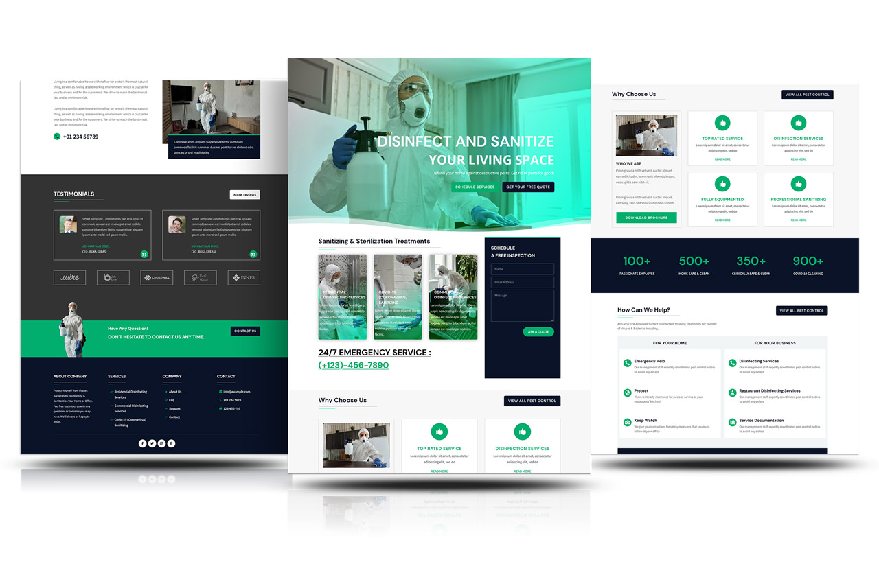 DIVI DISINFECTION & CLEANING SERVICES LAYOUT
