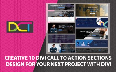 Creative 10 Divi Call To Action Sections Design for Your Next Project with Divi